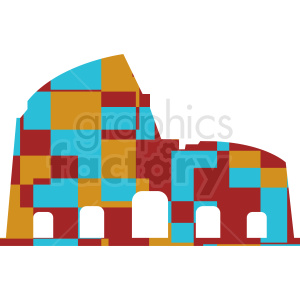 Colosseum vector clipart. Commercial use image # 412181