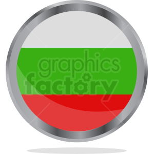 Bulgaria flag icon vector clipart. Royalty-free image # 412221