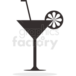 martini cocktail clipart. Royalty-free image # 412244