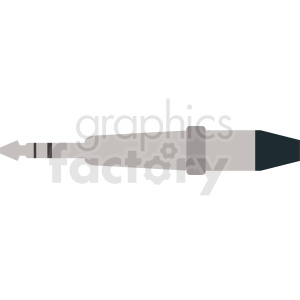 headphone jack vector clipart clipart. Royalty-free image # 412294