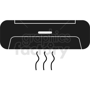 air conditioning vector clipart clipart. Commercial use image # 412298