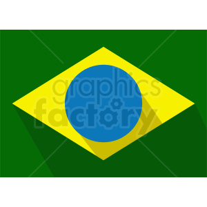 brazil flag icon clipart clipart. Commercial use image # 412341