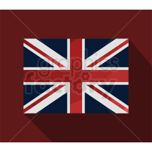 Great Britain on dark red background clipart. Royalty-free image # 412356