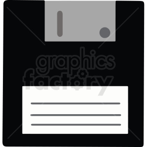 floppy disk vector clipart. Commercial use image # 412837