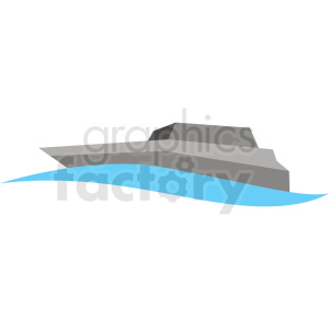 yacht vector clipart icon clipart. Commercial use image # 412976