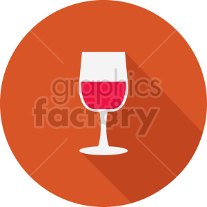 wine glass icon clipart. Commercial use image # 413419
