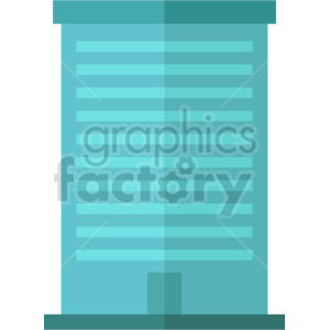 city office building vector clipart icon clipart. Commercial use image # 413473