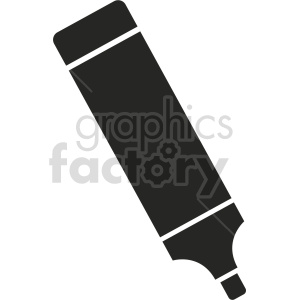 highlighter vector clipart 5 clipart. Commercial use image # 413489