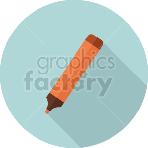 highlighter vector clipart 2