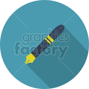 ink pen vector clipart 3 clipart. Commercial use image # 413504