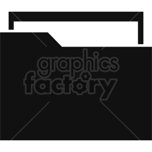 file folder vector clipart 5 clipart. Commercial use image # 413525