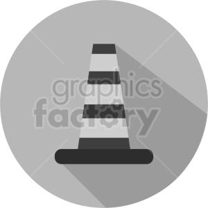 construction cone graphic clipart 5