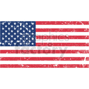 distressed flag vector graphic clipart. Commercial use image # 413651