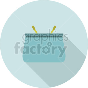 coin purse vector icon graphic clipart 2 clipart. Commercial use image # 413674