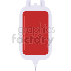 blood iv bag vector icon graphic clipart 3 clipart. Commercial use image # 413760
