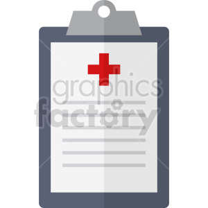 medical clipboard report vector icon graphic clipart 2 clipart. Commercial use image # 413794