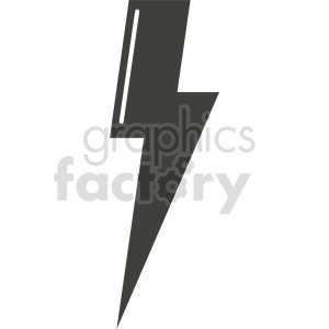 lightning vector icon graphic clipart 4