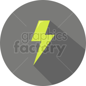 lightning vector icon graphic clipart 1 clipart. Commercial use image # 413810