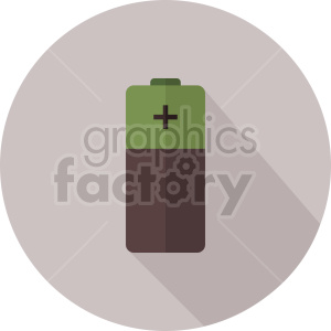 battery vector icon graphic clipart 3 clipart. Commercial use image # 413831