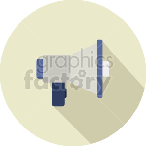 megaphone vector icon graphic clipart 19 clipart. Commercial use image # 413869