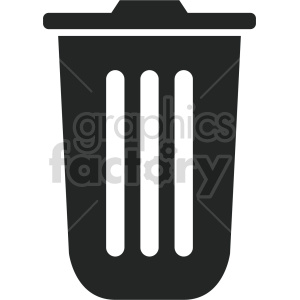 garbage can vector icon graphic clipart 4 clipart. Commercial use image # 413881