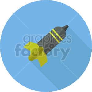 bomb vector icon graphic clipart 3