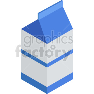 isometric milk vector icon clipart 8 clipart. Commercial use image # 414051