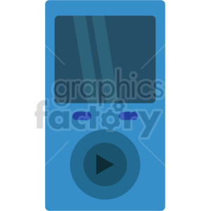 isometric music player vector icon clipart 5 clipart. Commercial use image # 414090