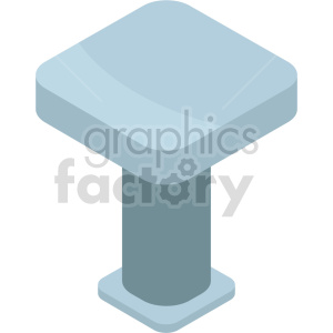 isometric kitchen table vector icon clipart 5 clipart. Commercial use image # 414196