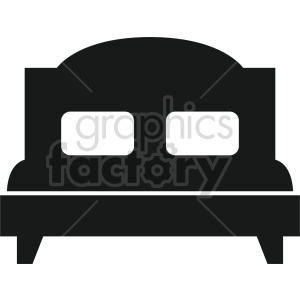 isometric bed vector icon clipart 3 clipart. Commercial use image # 414212