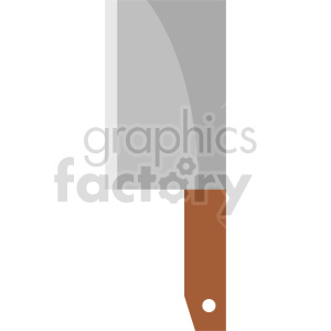 isometric butcher knife vector icon clipart 1 clipart. Commercial use image # 414246