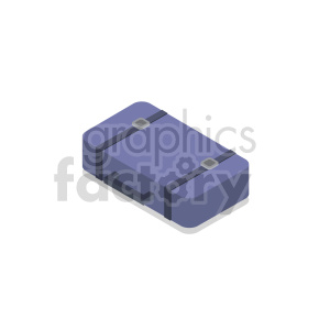isometric travel bag vector icon clipart 8 clipart. Royalty-free image # 414285