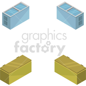 isometric freezer vector icon clipart 1 clipart. Commercial use image # 414297