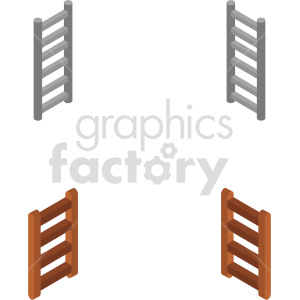 isometric ladder vector icon clipart 2 clipart. Commercial use image # 414412