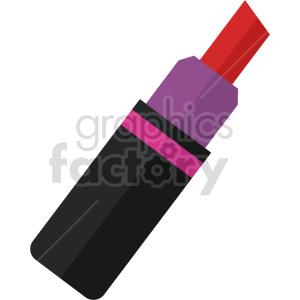 isometric lipstick vector icon clipart 3