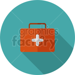 medical kit vector icon clipart 7 clipart. Commercial use image # 414622