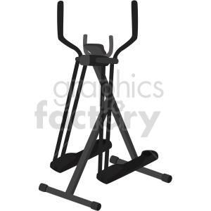 walker exercise machine vector graphic clipart. Commercial use image # 414900