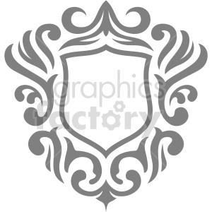 clipart - elegant frame vector clipart.