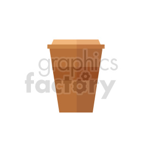 coffee cup vector clipart 02 clipart. Commercial use image # 415150
