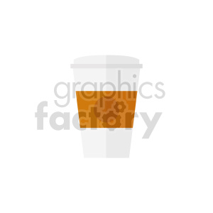 coffee cup on vector clipart 01 clipart. Commercial use image # 415151