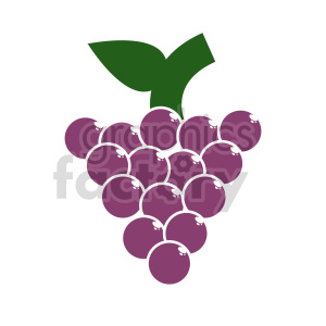 grape vector clipart 02 clipart. Commercial use image # 415161