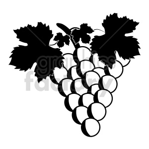 grapes vector graphic 01 clipart. Commercial use image # 415177