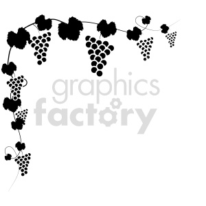 grape vine vector icons 0 clipart. Commercial use image # 415205