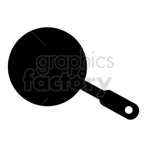 frying pan vector clipart clipart. Commercial use image # 415272