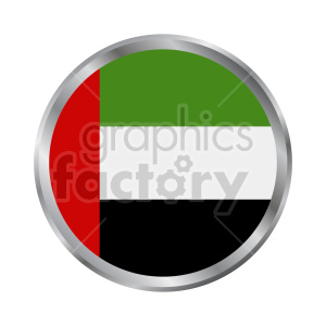 Flag of United Arab Emirates vector clipart 05 clipart. Commercial use image # 415316