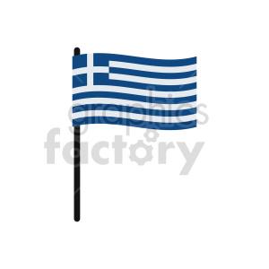 clipart - Greece flags vector clipart icon 3.