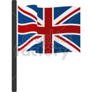 Great Britain flag vector clipart. Commercial use image # 415386