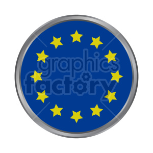 Flag of Europe vector clipart 08 clipart. Commercial use image # 415420