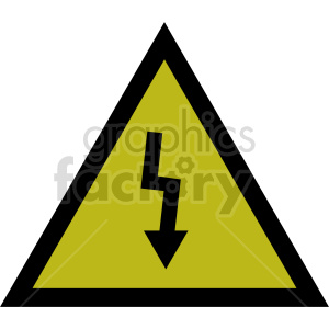 electric symbol vector clipart clipart. Commercial use image # 415505
