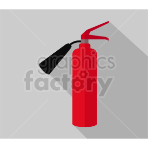 cartoon fire extinguisher vector clipart clipart. Commercial use image # 415569